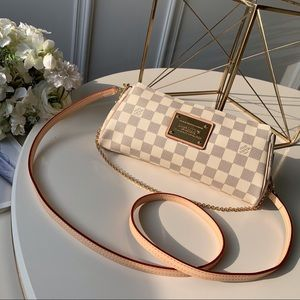 Louis Vuitton Eva crossbody damier azur